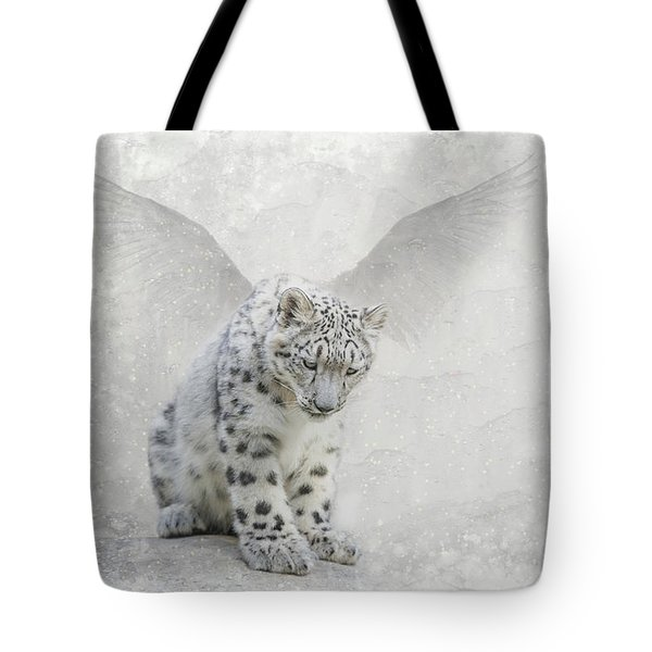 Snow Angel Tote Bag