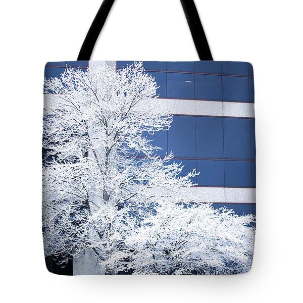 Snow Art Tote Bag