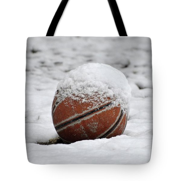 Snow Ball Tote Bag