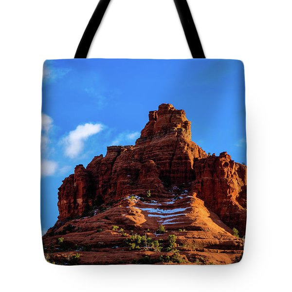 Snow Bell Tote Bag by Jon Burch Photography
