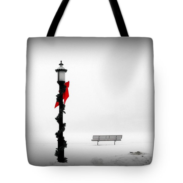 Snow Blind Tote Bag