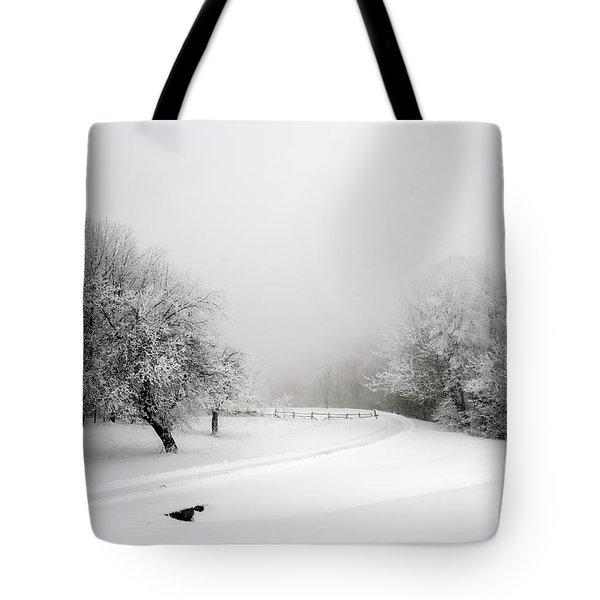 Snow Bound Tote Bag