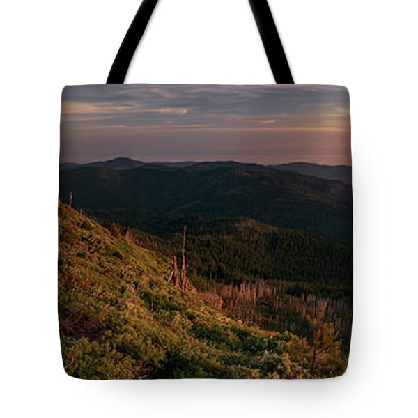 Snow Camp Lookout Tote Bag by Leland D Howard