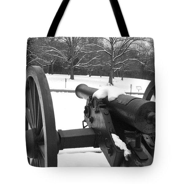 Snow Canon Tote Bag
