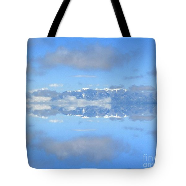 Snow Caps Tote Bag