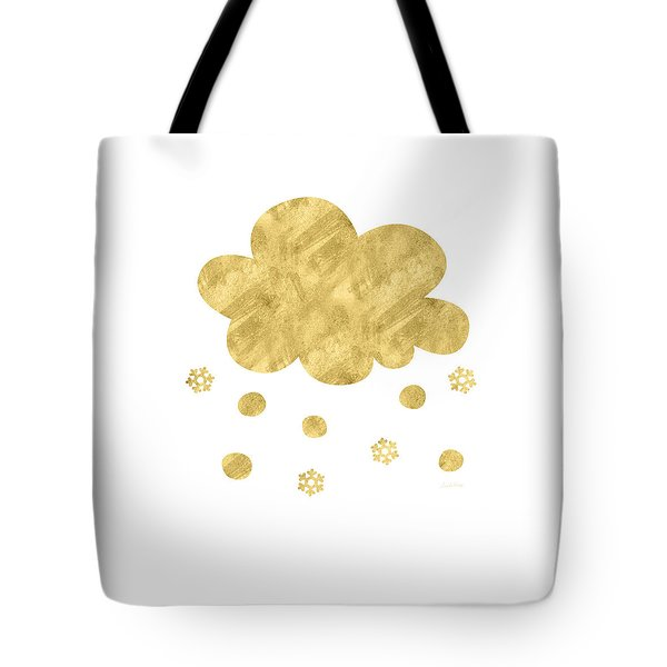Snow Cloud- Art By Linda Woods Tote Bag
