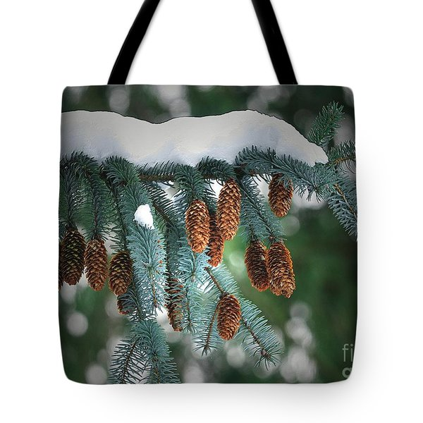 Snow Cones Tote Bag by Sharon Talson