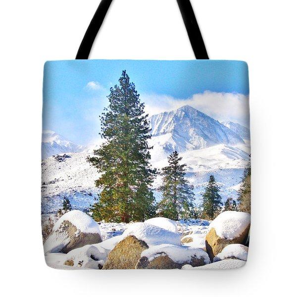 Snow Cool Tote Bag