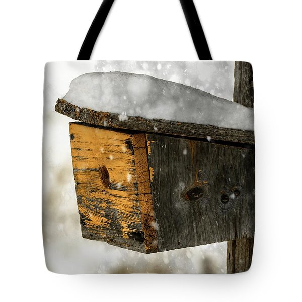 Snow Cover Tote Bag by Sherman Perry