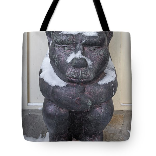 Snow Covered Chimera Tote Bag