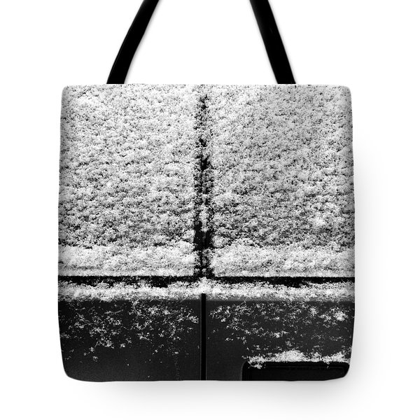Snow Covered Rear Tote Bag