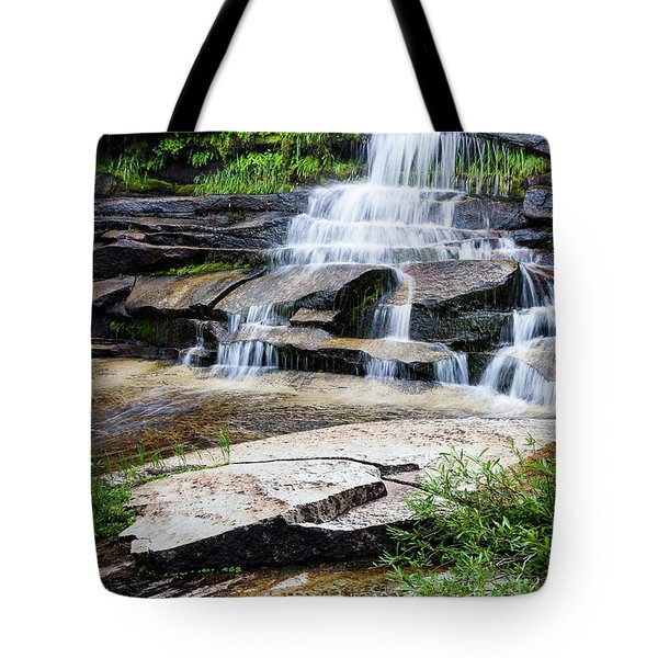 Snow Creek Cascade Tote Bag
