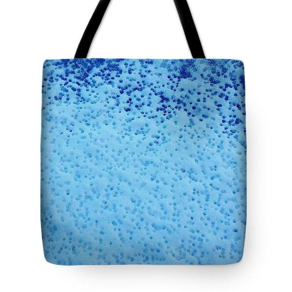 Snow Droplets  Tote Bag