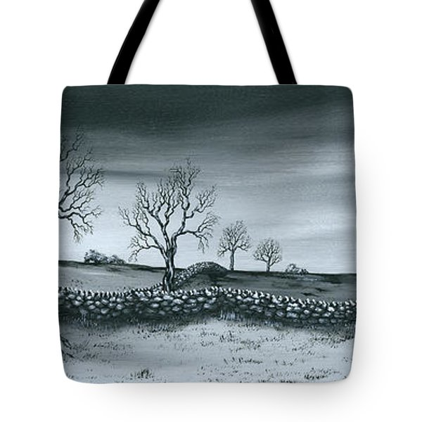 Snow Dust Tote Bag by Kenneth Clarke