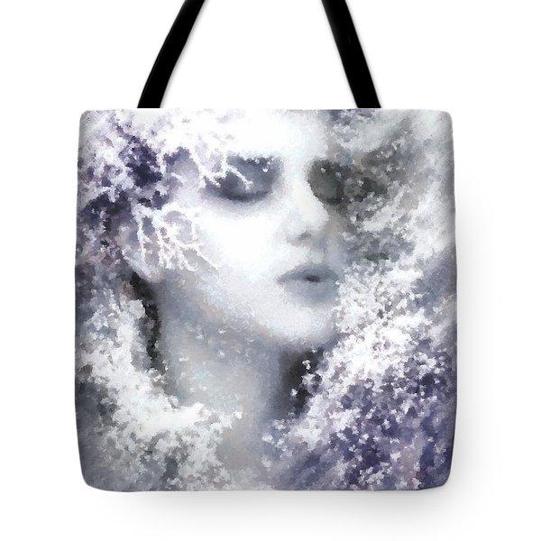 Snow Fairy  Tote Bag by Gun Legler