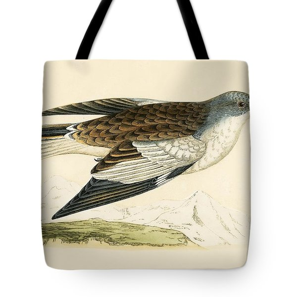 Snow Finch Tote Bag by English School