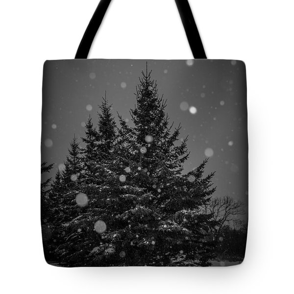 Snow Flakes Tote Bag by Annette Berglund