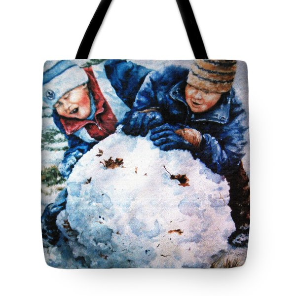 Snow Fun Tote Bag