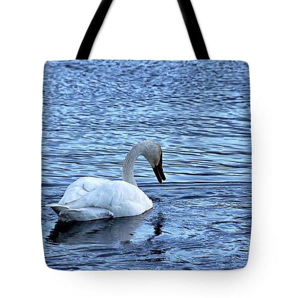 Snow Goose Tote Bag