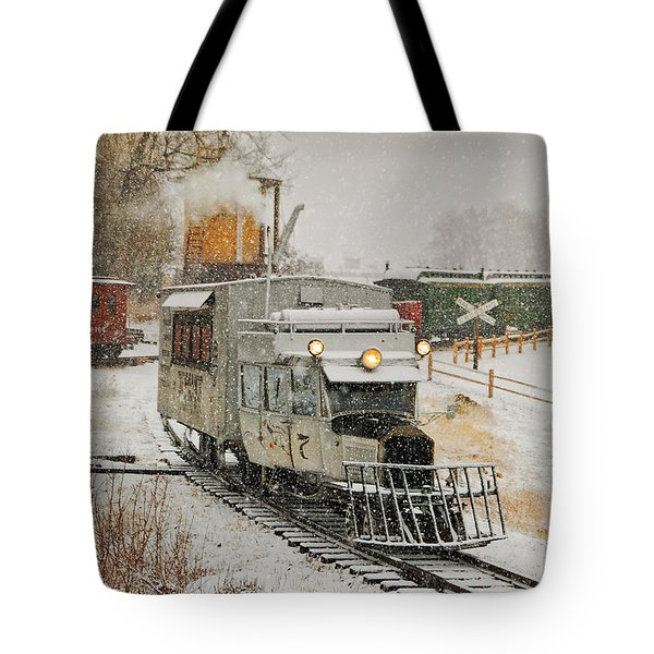 Tote Bag featuring the photograph Snow Goose by Ken Smith