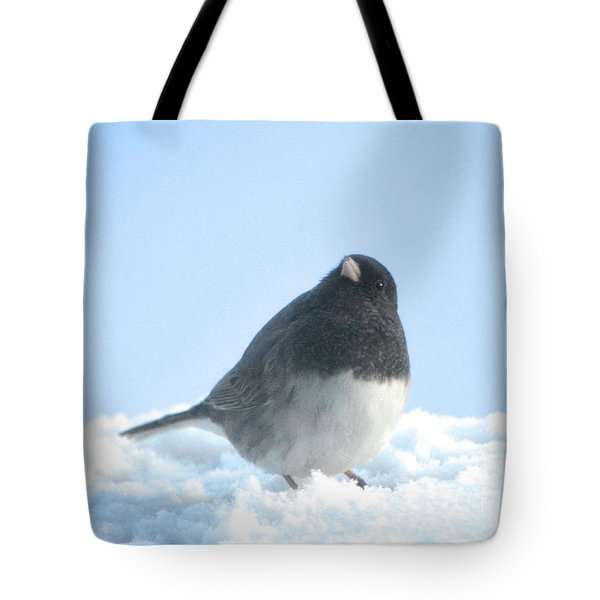 Snow Hopping #2 Tote Bag
