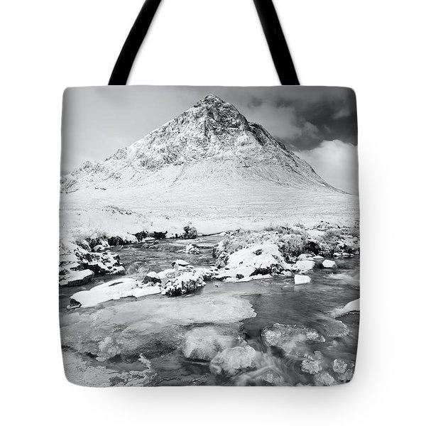 Snow In Glencoe Tote Bag