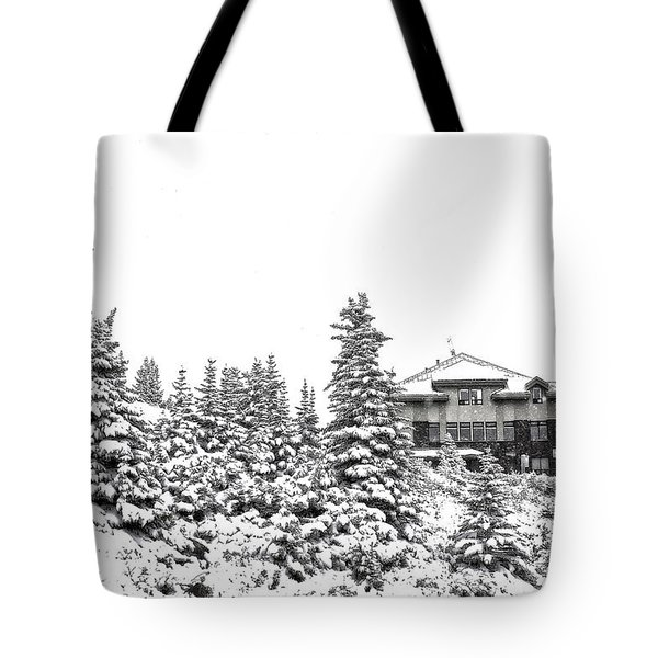 Snow In July 2 Tote Bag by Teresa Zieba