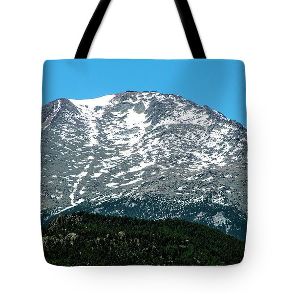 Snow In July Tote Bag
