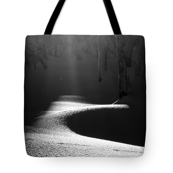 Snow Laden Tote Bag