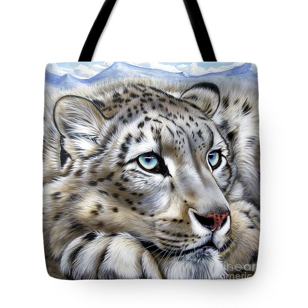 Snow-leopard's Dream Tote Bag