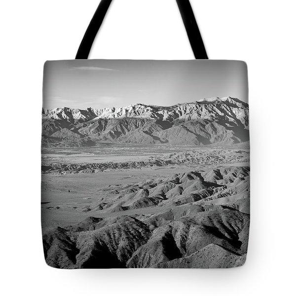 Snow Line Tote Bag