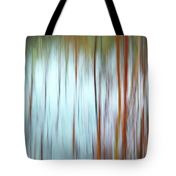 Snow Melt In The Wetlands Tote Bag