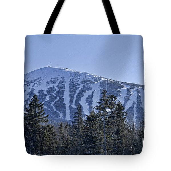 Snow On The Loaf Tote Bag by Alana Ranney