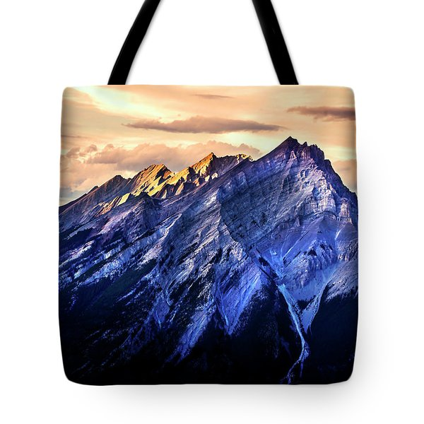 Tote Bag featuring the photograph Mount Cascade by John Poon