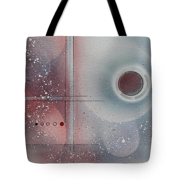 Snow Powder Tote Bag by Monte Toon