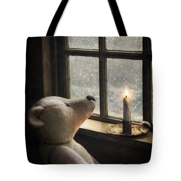 Snow Wonder Tote Bag