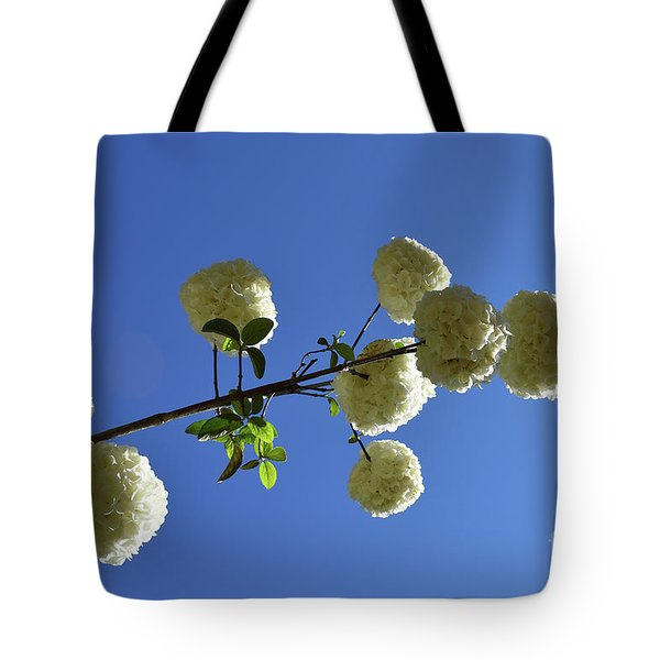 Tote Bag featuring the photograph Snowballs On A Stick by Skip Willits