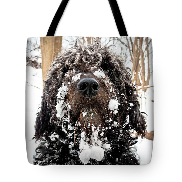 Snowbeast No 1 Tote Bag by Brian Carson