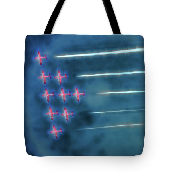 Snowbird Formation 1 Tote Bag