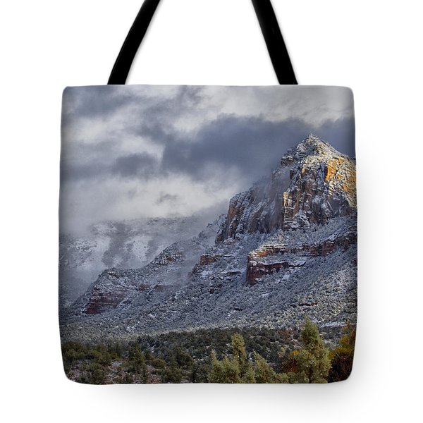 Snowbreak Tote Bag by Tom Kelly