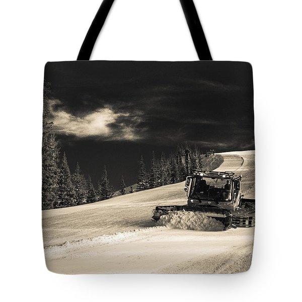 Snowcat Tote Bag
