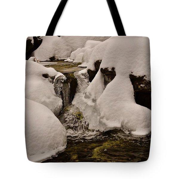 Snowcone Stream Tote Bag