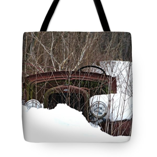 Snowed In 2 Tote Bag