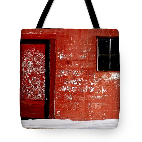 Snowed In Tote Bag by Ed Smith