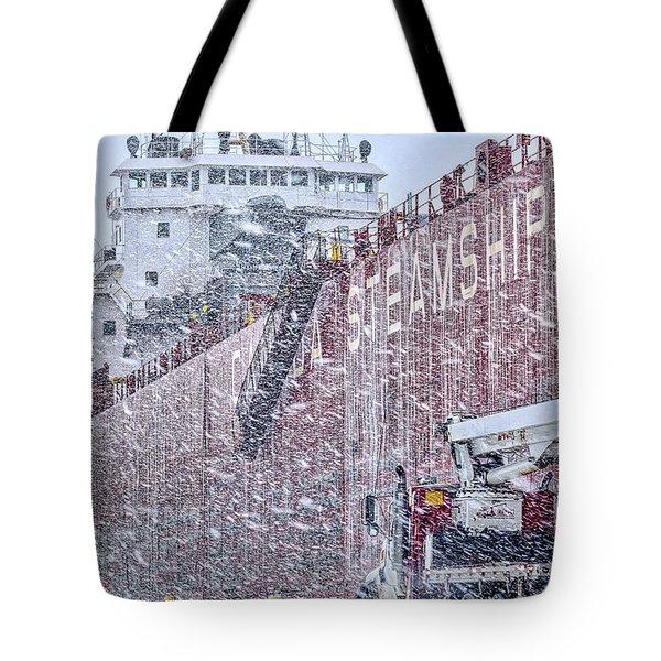 Snowed In Tote Bag by Irwin Seidman