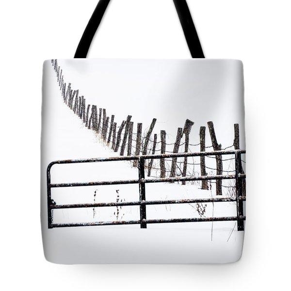 Snowfield Entry - Tote Bag