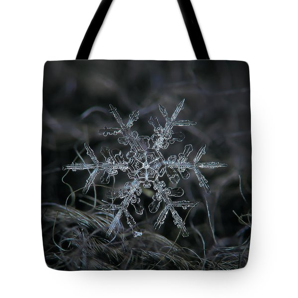 Snowflake 2 Of 19 March 2013 Tote Bag by Alexey Kljatov