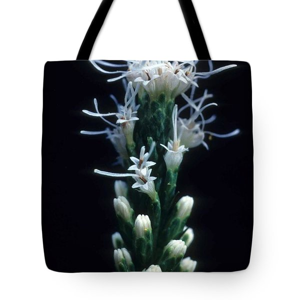 Snowflake Flower Tote Bag by Laurie Paci