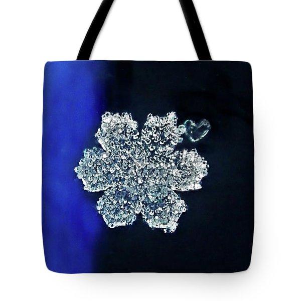 Snowflake Love Tote Bag