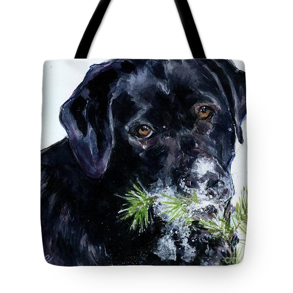 Snowflake Tote Bag by Molly Poole